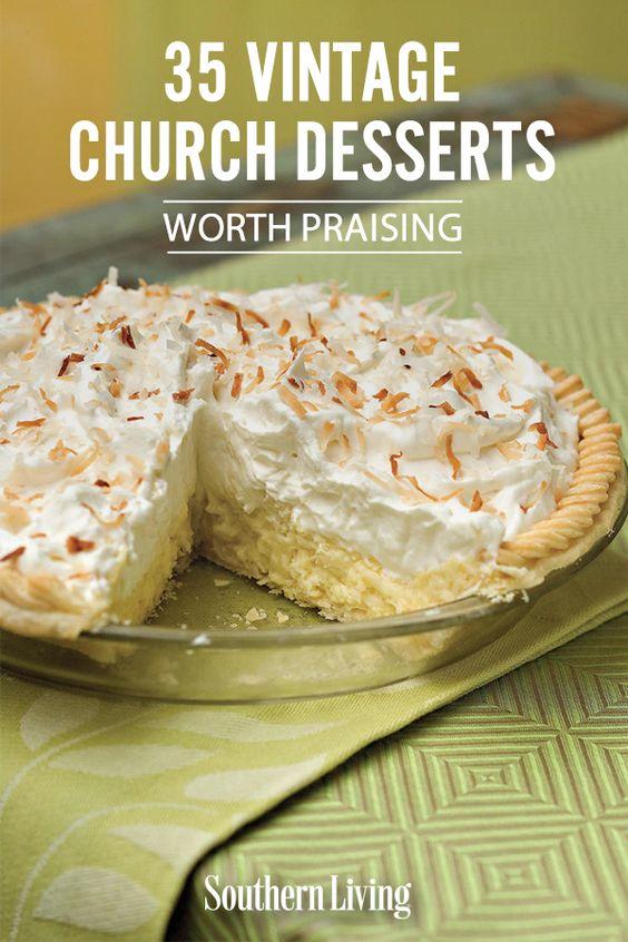35 Vintage Church Desserts Worth Praising