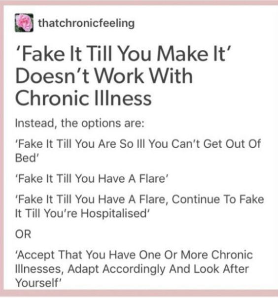 MS, Fibro, Lupus, and the list goes on and on.... Chronic Debilitating Painful Illnesses