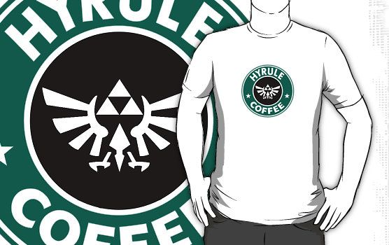 Starbucks and Legend of Zelda Mashup :D Amazing !