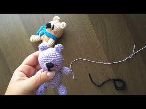 Amigurumi Ayıcık Yapılışı-amigurumi free pattern bear | Crochet ... | 360x480