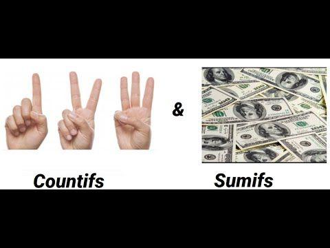 شرح معادلات اكسيل Sumifs And Countifs واستخدام اكبر من واصغر كشرط Peace Gesture Peace Okay Gesture