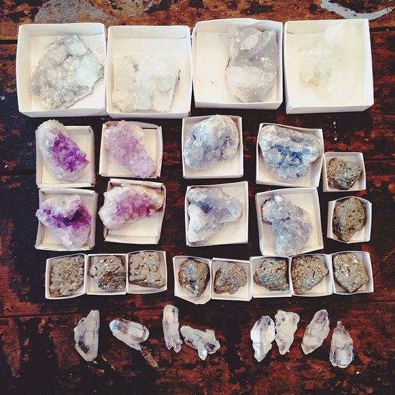 Crystals!