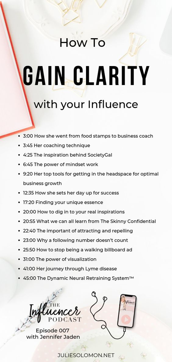 How to gain clarity, mindfulness and intention in your Influence with Business Coach Jennifer Jaden. The Influencer Podcast with Julie Solomon #TheInfluencerPodcast #InfluencerMarketing #business…