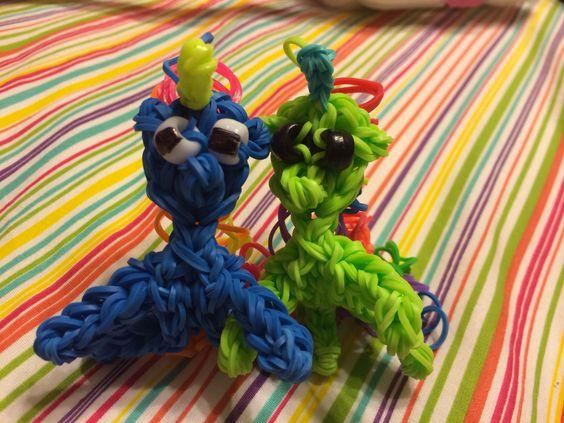 My Rainbow Loom Unicorns!