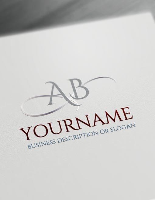 Logo Maker Initials Abc Logo Templates Logo Templates