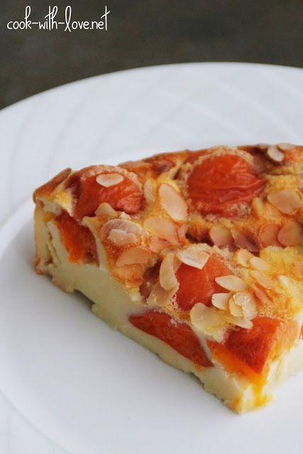 CLAFOUTIS ABRICOTS, AMANDES ET MIEL   Desserts : tartes & cakes ...