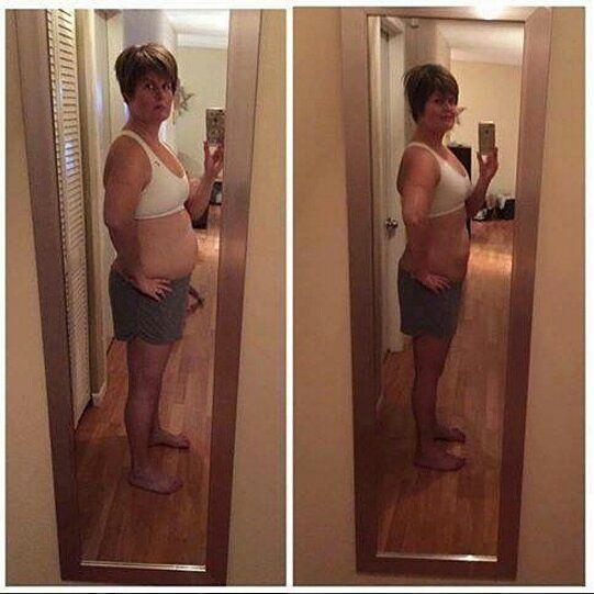 Gewichtsverlust Spiegel