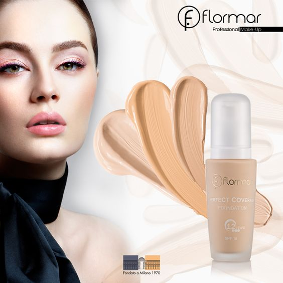 PERFECT COVERAGE FOUNDATION www.flormar.com