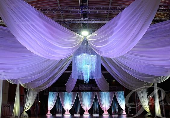 ceilings wedding draping and bedroom drapes on pinterest. Black Bedroom Furniture Sets. Home Design Ideas