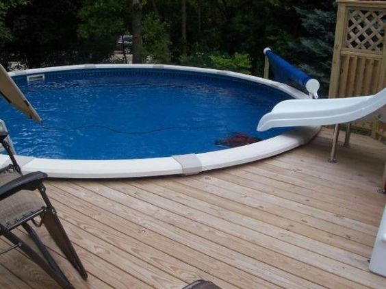 the decks for above ground pools are about creating a comfortable and relaxing space around the above ground pool so that both homeowners and the guests can benefit from this space addition. It is not difficult to build a deck around the above ground pool and all homeowners know it. Nowadays, modern homeowners will love having above ground pool with decks because it allows them to make the most of their pool