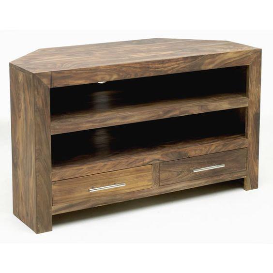 tv corner units corner unit and tv stands on pinterest. Black Bedroom Furniture Sets. Home Design Ideas