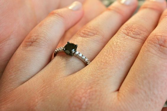 My engagement ring! Just got it July 29. So fortunate to be marrying the most amazing guy in the world.