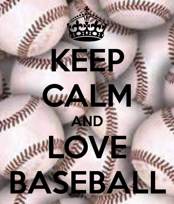 KEEP CALM AND LOVE BASEBALL - KEEP CALM AND CARRY ON Image Generator - brought to you by the Ministry of Information