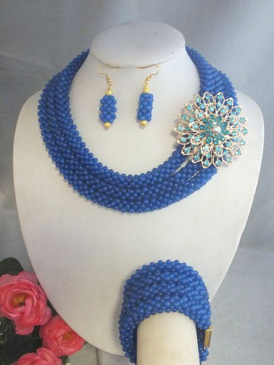 Economico A 3343 incredibile nigeriano di nozze beads africani dei monili impostato royal blue collane di giada, Acquisti di Qualità Gioielli Kit direttamente da Fornitori A 3343 incredibile nigeriano di nozze beads africani dei monili impostato royal blue collane di giada Cinesi.