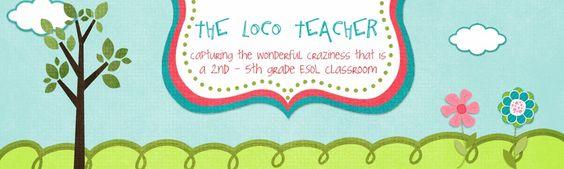 ESOL teacher--lots of great ideas