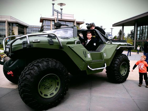 Real Life Halo Vehicles: The 343i Studios Has A Real, Drive-able, HALO 4 Warthog