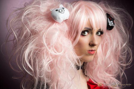 More Junko! I love my wig it was a pain tho PC - Trent Chau  #cosplay #junkoenoshima #danganronpa