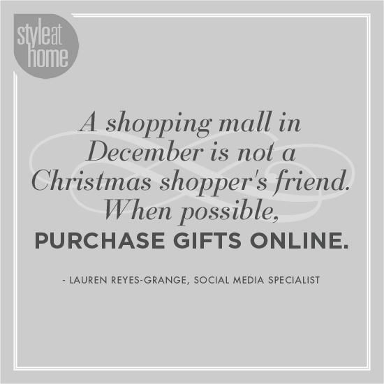 Fun and festive holiday quotes Think about online shopping - purchase quotation