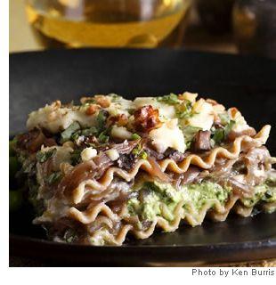 ... spinach spinach ricotta goats portobello lasagna recipe sweet goat
