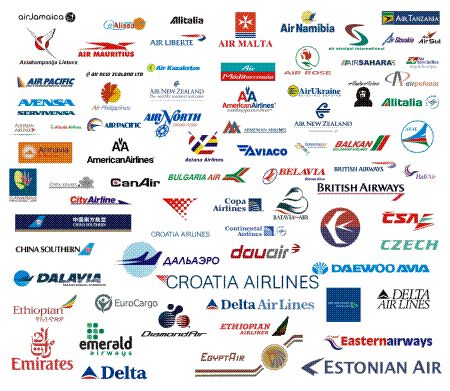 airline logos of the world with names - Google Search | LOGOS ...