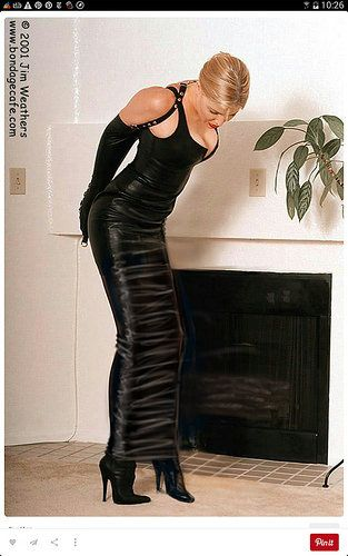 Black Leather Bondage 28