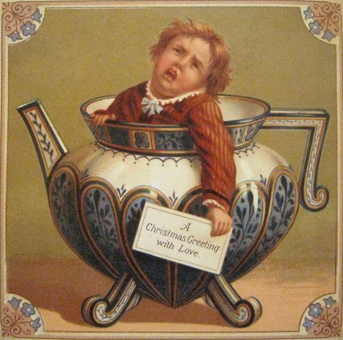 странные поздравительные открытки викторианской эпохи: