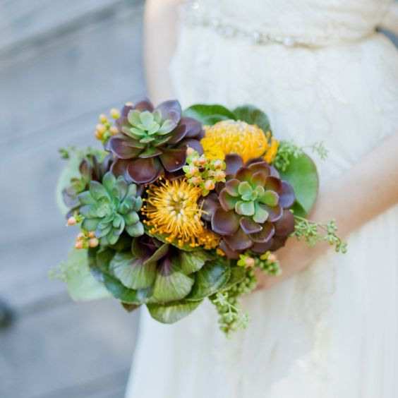Alternative Wedding Bouquet Pictures | POPSUGAR Home