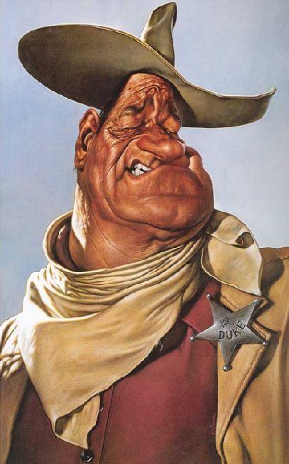 [ John Wayne ]   - artist: Sebastian Kruger - website: http://sebastian-kruger-news.blogspot.com/