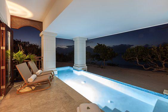 Zemi Beach | Real Estate on Anguilla | Night Swimming