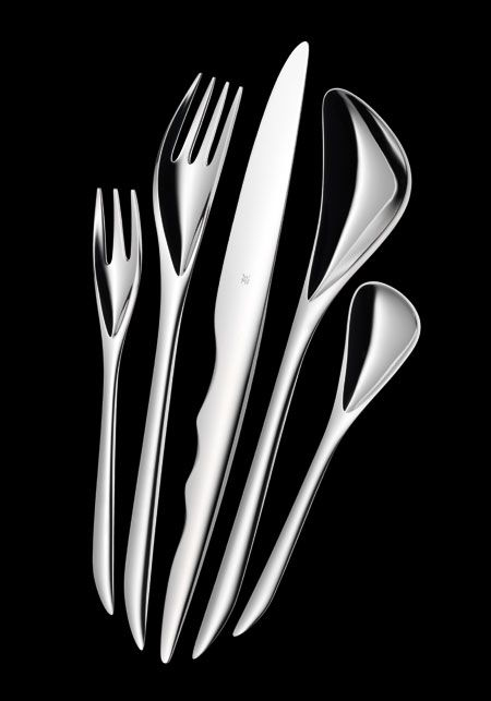 Zaha Hadid... guess as an architect we have the right to design anything and everything in the house!