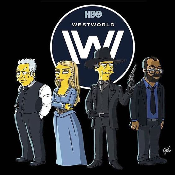 Simpsons 👌🏻 #Westworld #Simpsons #hbo