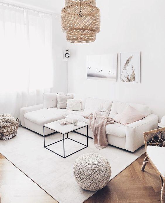 neutrale woonkamer