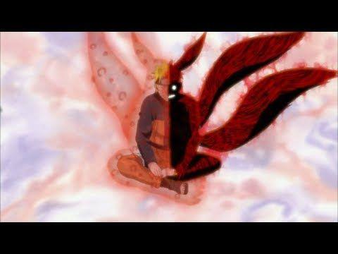 ناروتو يتدرب للسيطرة على الكيوبي ناروتو يتحول الى طور الكيوبي لاول مرة قتال ناروتو ضد الكيوبي Youtube Anime Maschio Anime