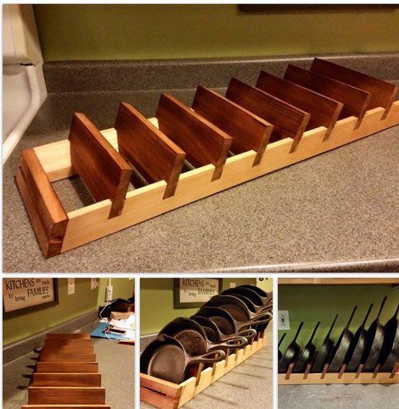 Cast Iron Skillet Storage: