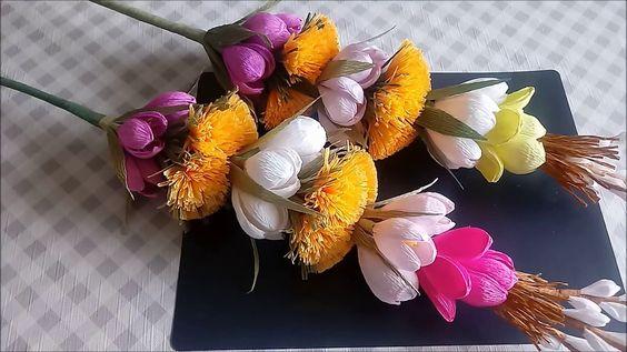 Jak Zrobic Palme Wielkanocna Palma Wielkanocna Paper Flowers Easter Decorations Diy And Crafts