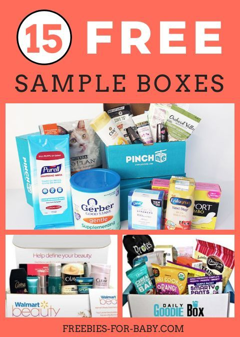 15 Free Sample Boxes Legit Free Stuff For Moms In 2020 Free Sample Boxes Free Stuff By Mail Free Beauty Samples Mail