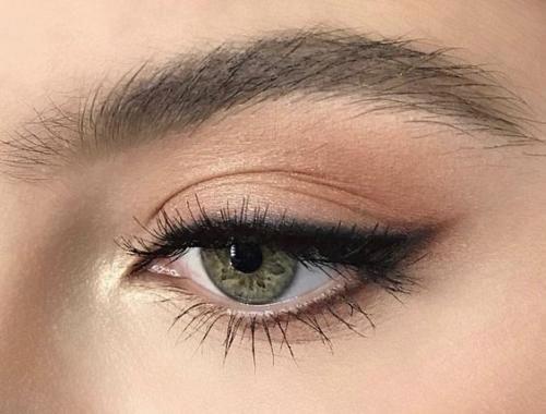 Растушеванные стрелки: основные правила. | Макияж лица #makeup