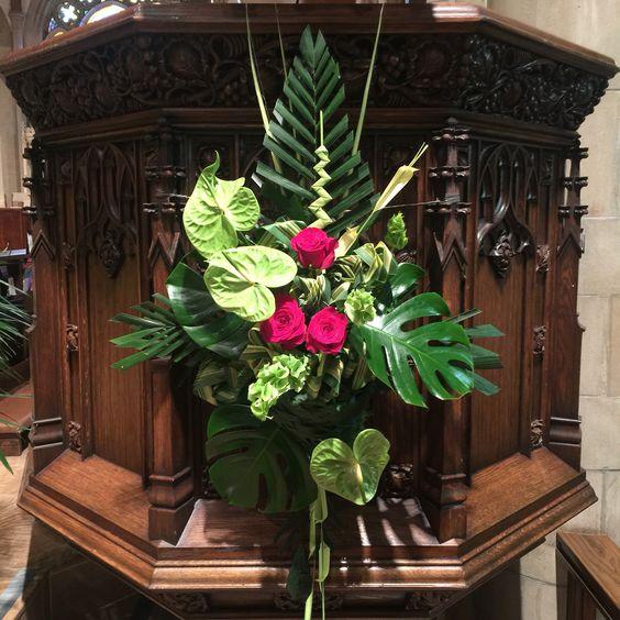 Flower Arrangement For Church Pulpit: Pinterest • The World's Catalog Of Ideas