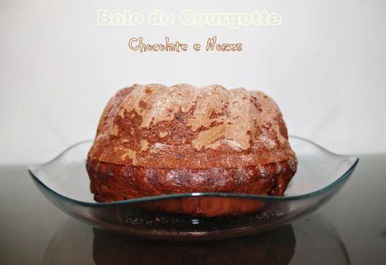 Bolo de Courgette, Chocolate&Nozes