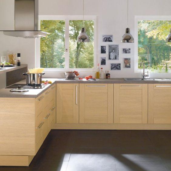 30 cuisines modernes et fonctionnelles belle cuisine - Cuisine grise conforama ...