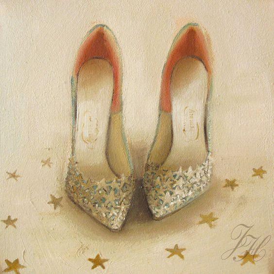 Still Life- Starlight- Art print Janet Hill