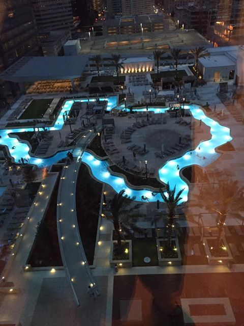 Texas Shaped Lazy River At The Marriott In Houston Houston