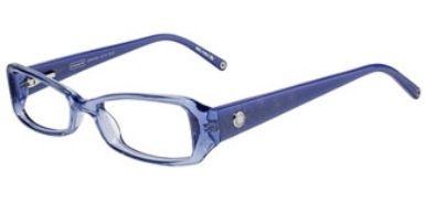 Funky Blue Coach Glasses For Girls Girls Eyewear