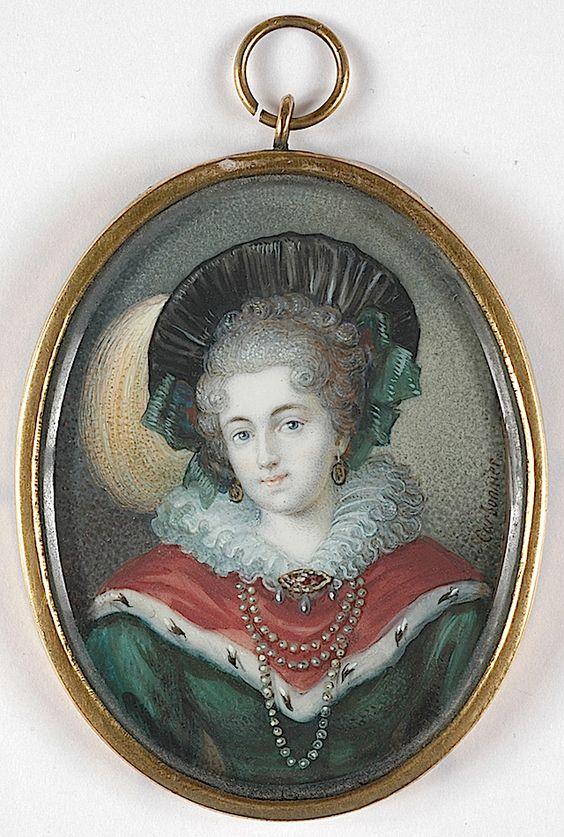 Frederike Sophie von Mecklenburg-Strelitz by Casimir Carbonnier (Boris Wilnitsky)