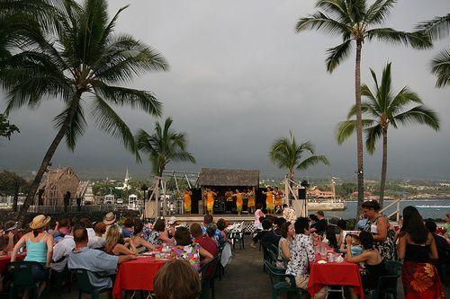 Lu'au at King Kamehameha's Kona Beach Hotel - restoring the National Historic Landmark.