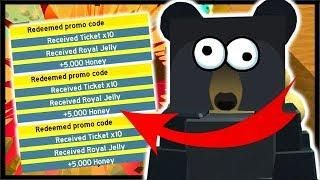 New Use These Codes For Free Tickets Royal Jelly Roblox Bee