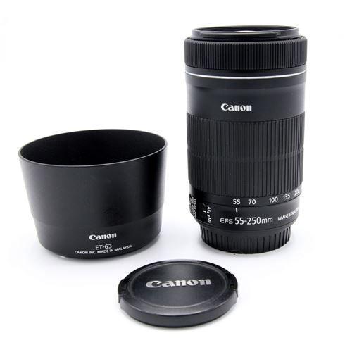 Kamera Express Canon Ef S 55 250mm F 4 5 6 Is Et 63 Zonnekap Occasion