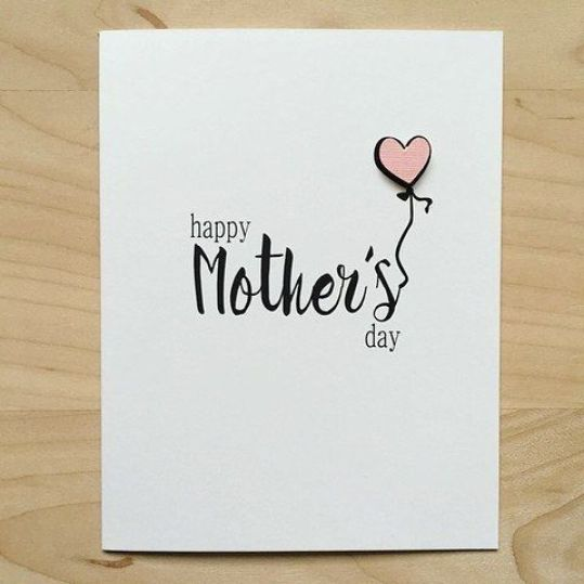 10 Creative Mothers Day Cards Diy Handmade Easy Elegant And Simple Ideas Lifestyle Mothers Day Card Template Birthday Cards For Mom Happy Mother S Day Card