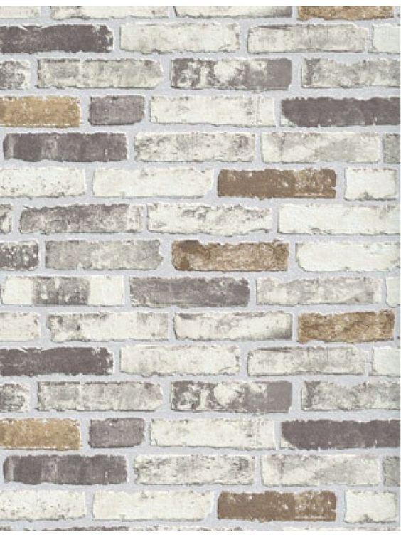 Beige Brick Wallpaper Brick Wallpaper Accent Walls