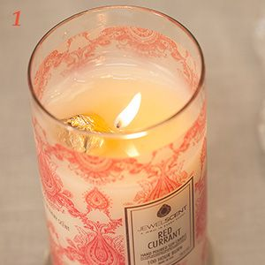 jewel scent candle have a hidden piece of jewelry worth 10 7500 wants pinterest. Black Bedroom Furniture Sets. Home Design Ideas